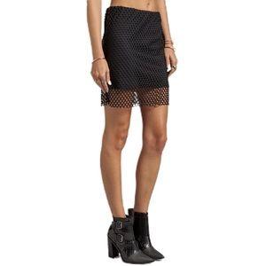 Cheap Monday | Revolve Pixie Fishnet Mini Skirt